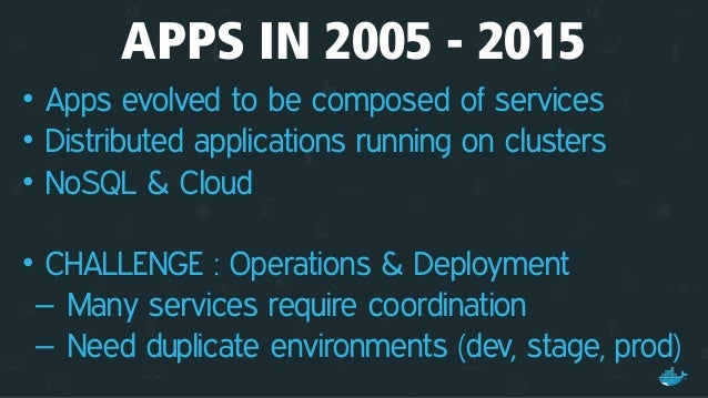 Applications Run on Clusters Static Website Web Front EndBackground Workers User DB Analytics DB Queue API Endpoint oneapp...