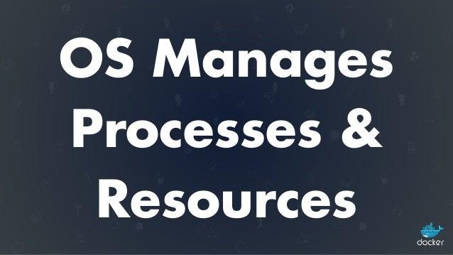 OS Provides Portability  (same app runs on different hardware)