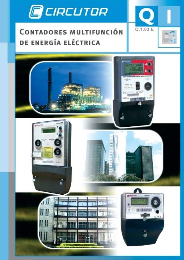 Q.1.- Contadores multifunción de energía eléctrica