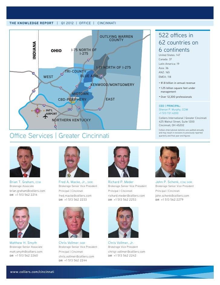 the knowledge report | Q1 2012 | office | cincinnati                                                                      ...