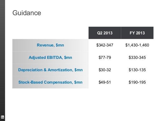Q2 2013 FY 2013Revenue, $mn $342-347 $1,430-1,460Adjusted EBITDA, $mn $77-79 $330-345Depreciation & Amortization, $mn $30-...