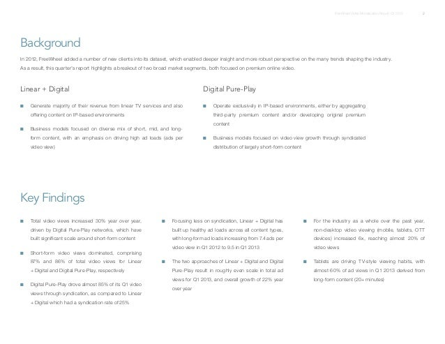 Q1 2013 free_wheel_video_monetization_report Slide 2