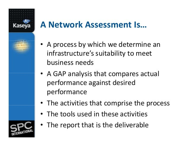 MSP Sales Tactic – Network Assessment Template