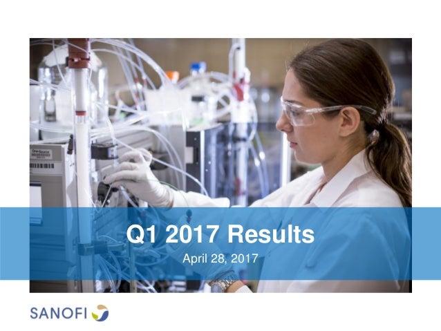 Q1 2017 Results April 28, 2017