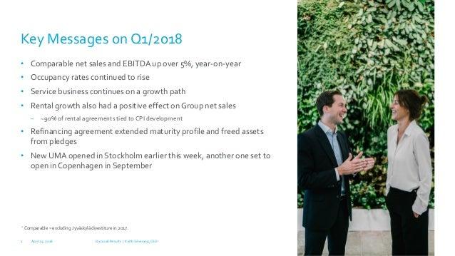 Technopolis Q1 2018 Results Slide 2