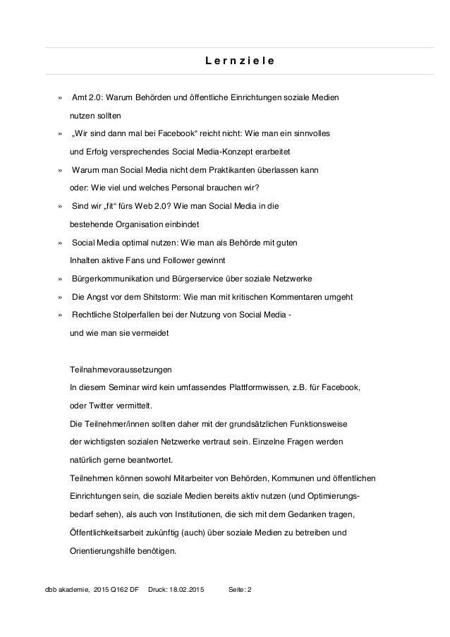 Amt 2.0: Öffentlichkeitsarbeit mit Social Media (für Behörden) Slide 2