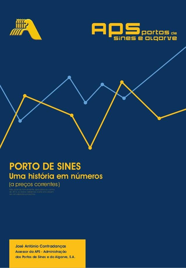 Uma história em números (a preços correntes) José António Contradanças Assessor da APS - Administração dos Portos de Sines...