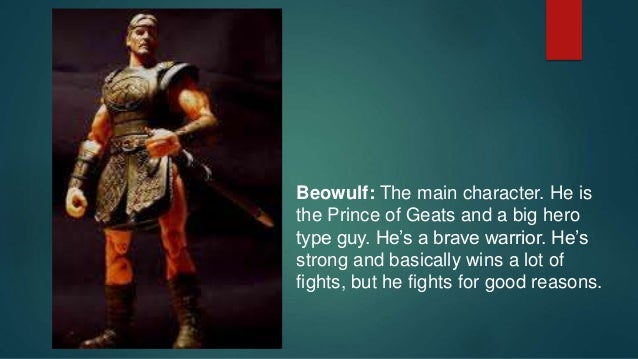 how well does beowulf conform to the characteristics of a typical epic