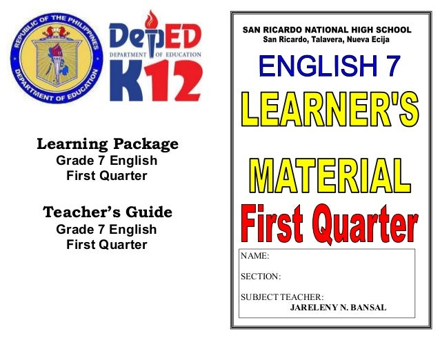notional learning package Lan4101 promotional materials notional learning package notes to students you should read through the notes to students carefully and make good use of the materials provided in the package.
