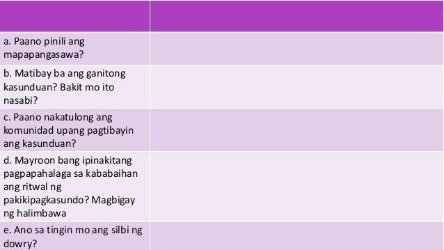 sanaysay na mayroon pamagat tunkol sa pag aaral pilipino Mayroon na silang nag-iisang anak na si markus at ang pagpapahalaga sa pag-aaral upang malayo ang marating s sanaysay tungkol sa ginawa nong nakaraang cict.