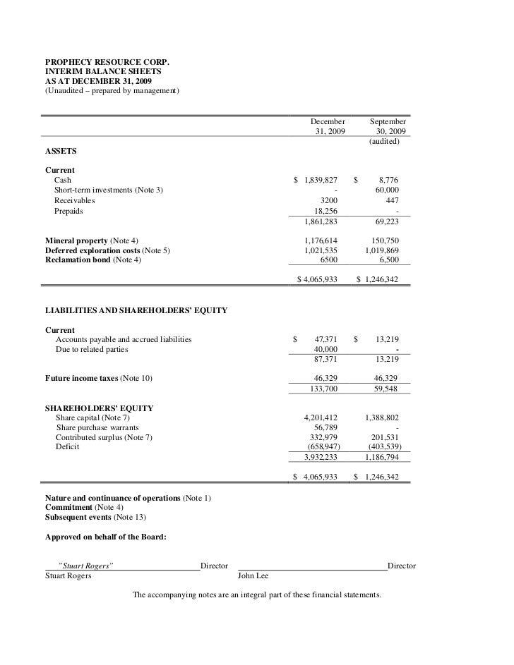 Q1 md&a & interim financial statements (pre merger) Slide 3