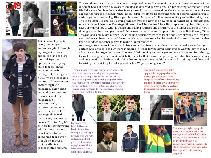 The social groups my magazine aims at are quite diverse. My main aim was to nurture the needs of the different types of pe...