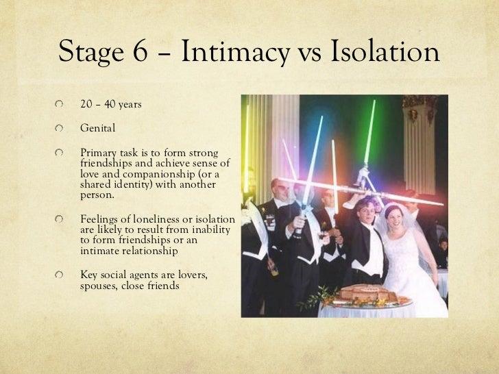 intimacy vs isolation