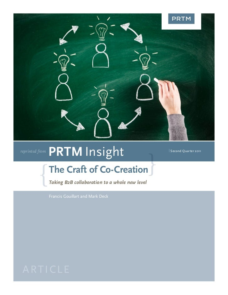 reprinted from                 PRTM Insight                                    | Second Quarter 2011                 The C...