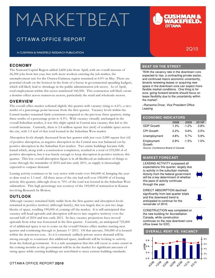 OTTAWA OFFICE REPORT                                                                                                      ...
