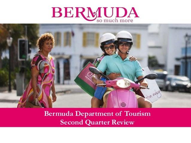 Bermuda's National Tourism Plan SECONDARY TITLE Bermuda Department of Tourism Second Quarter Review