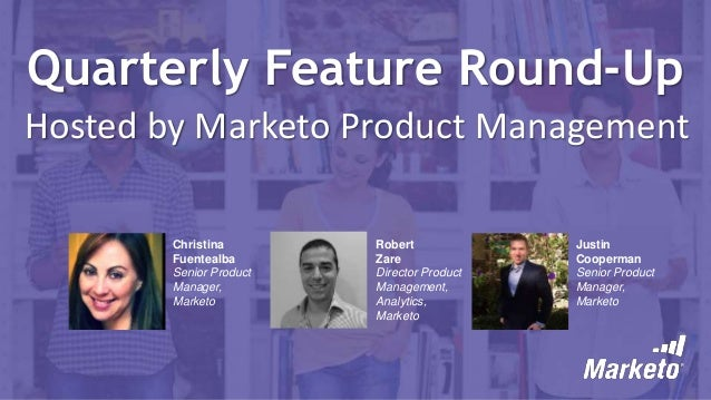 Q2 2016 Product Round Up Webinar