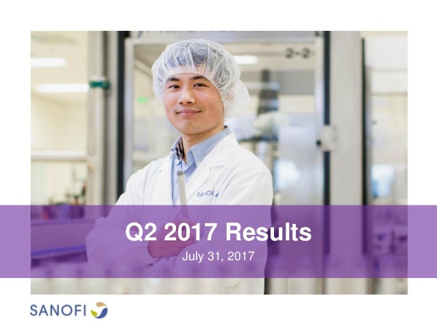 Q2 2017 Results July 31, 2017