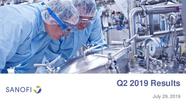 Q2 2019 Results July 29, 2019