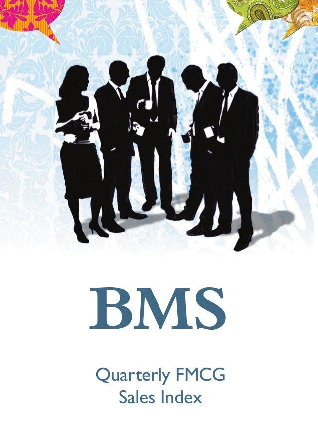 Quarterly FMCG Sales Index