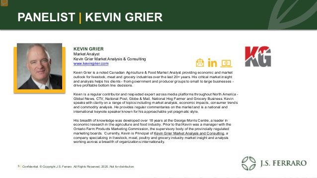 PANELIST | KEVIN GRIER KEVIN GRIER Market Analyst Kevin Grier Market Analysis & Consulting www.kevingrier.com Kevin Grier ...
