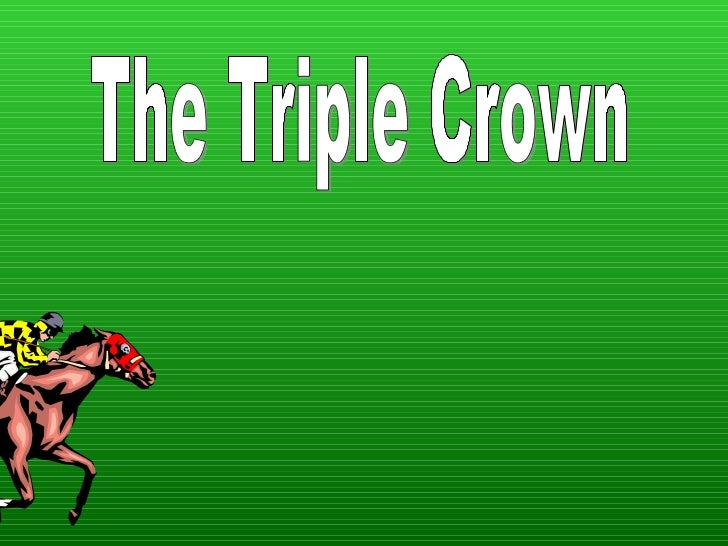 Cover page The Triple Crown