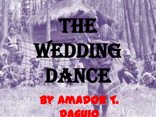 The Wedding Dance By Amador T