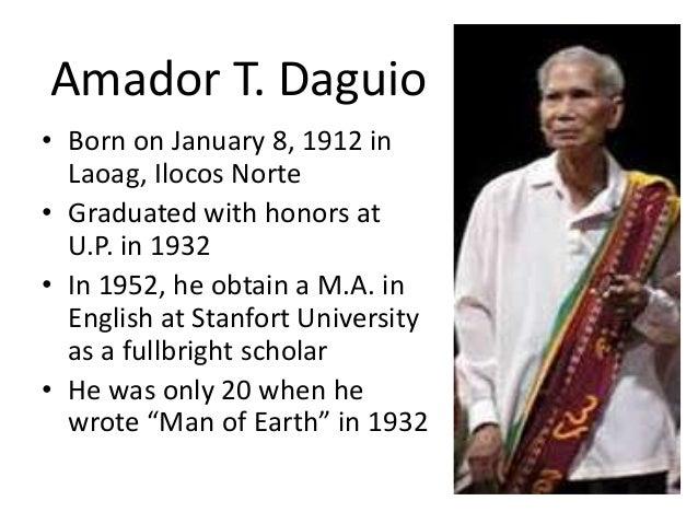 Amador Daguio Biography Summary Form Aspictoscanaricerca Org