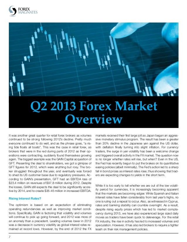 Forex magnates quarterly industry report definition investment retirement plan bmo