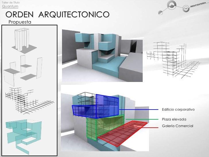 Q3 orden arquitectonico for Programa diseno oficinas