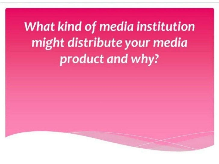"""What my film will be similar to          institutionallyFilms that will be created and distributed similarly to""""Have You S..."""