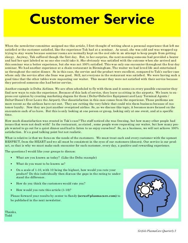 Quarterly Newsletter Template Newsletter Templates
