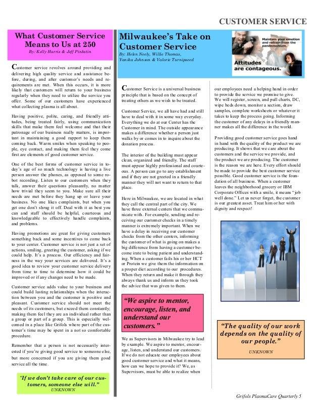 company newsletter samples