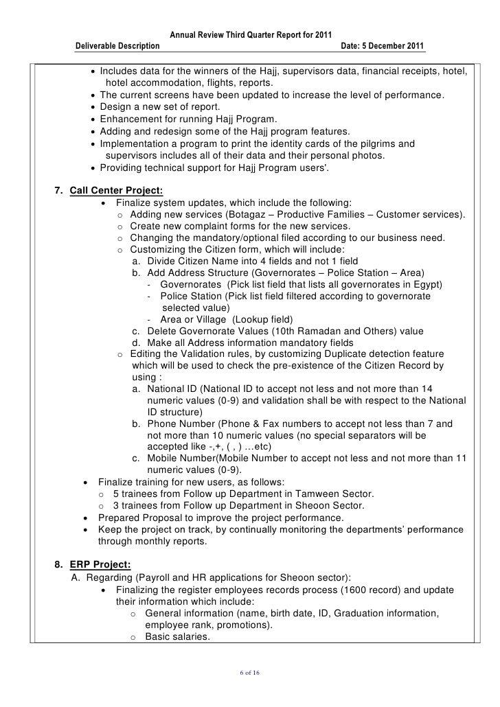 q3 2011 progress report moss