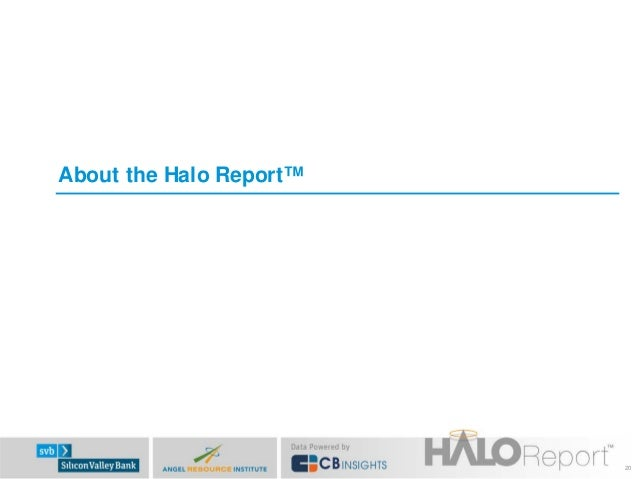 About the Halo Report™  20