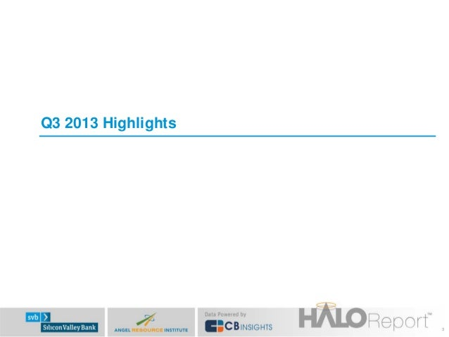 Q3 2013 Highlights  3