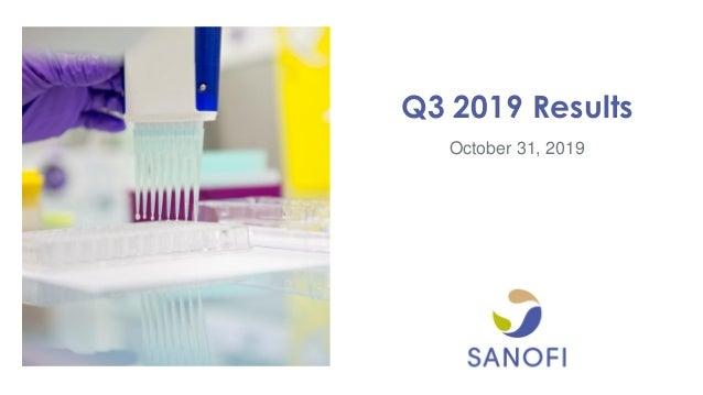 October 31, 2019 Q3 2019 Results