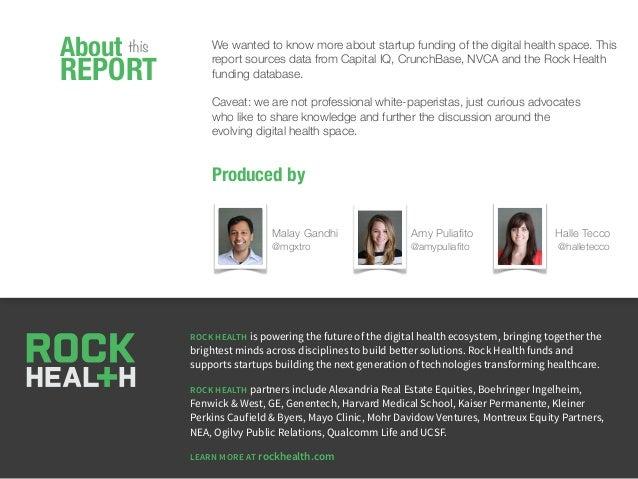 Q3 2012 Digital Health Funding Report by @Rock_Health Slide 2