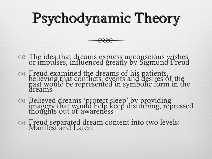 freud dream theories vs activation synthesis model Theories of dreaming are an attempt to explain • the activation-synthesis theory the dream freud suggested that the symbolism in a dream is of.