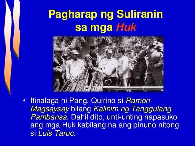 Ang dating pinuno ng pamahalaang barangay noong 6