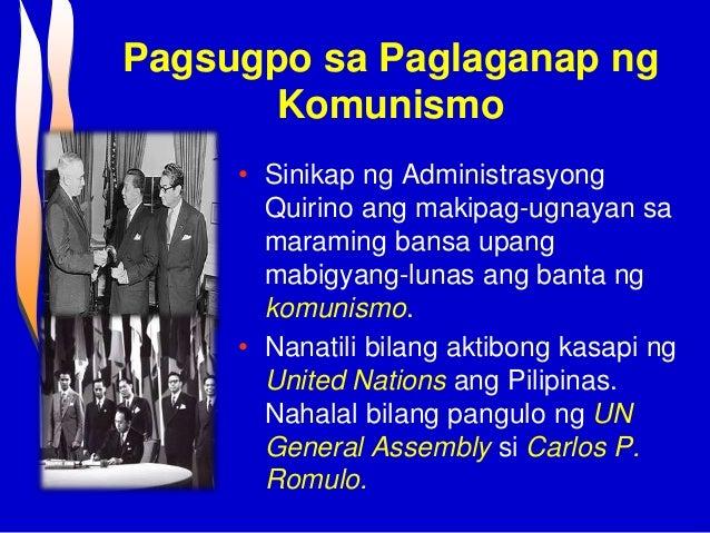 Dating pangulo ramon magsaysay high school 8