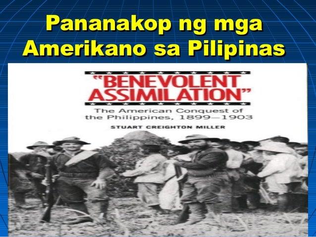 Pananakop ng mgaPananakop ng mga Amerikano sa PilipinasAmerikano sa Pilipinas