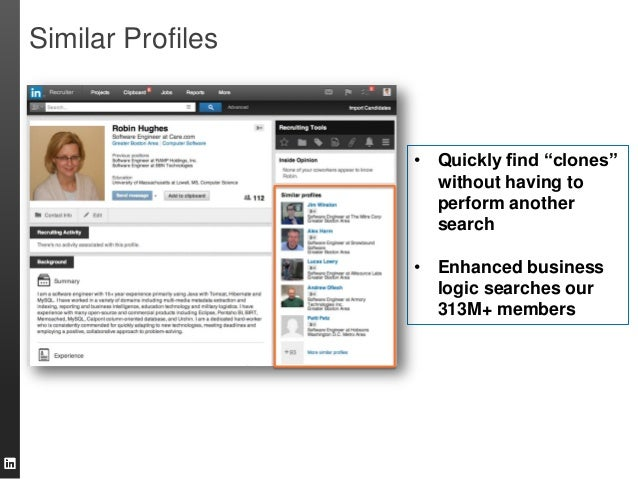 Linkedin Recruiter New Product Enhancements