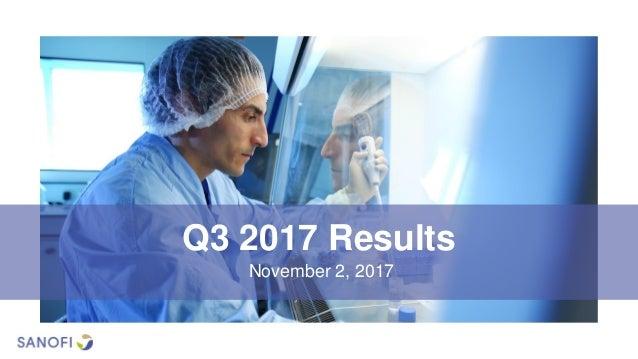 Q3 2017 Results November 2, 2017