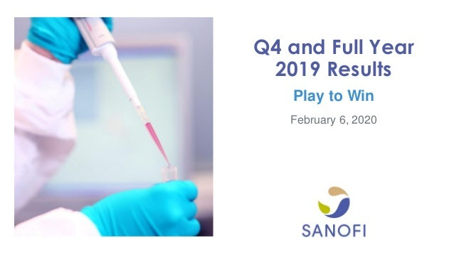 February 6, 2020 Q4 and Full Year 2019 Results Play to Win