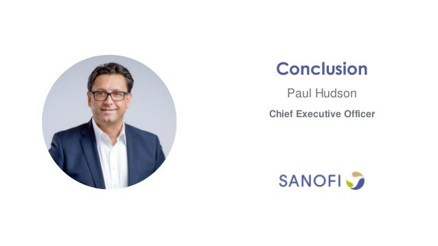 Paul Hudson Conclusion Chief Executive Officer