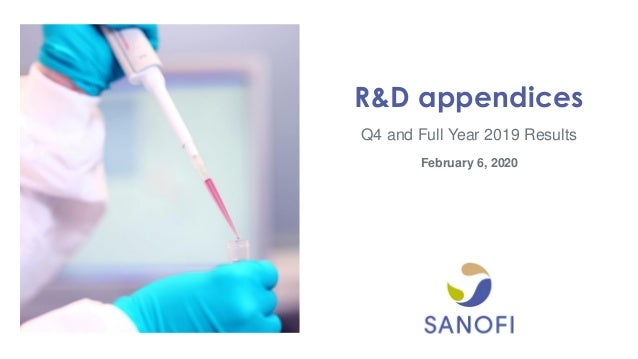 Q4 and Full Year 2019 Results R&D appendices February 6, 2020