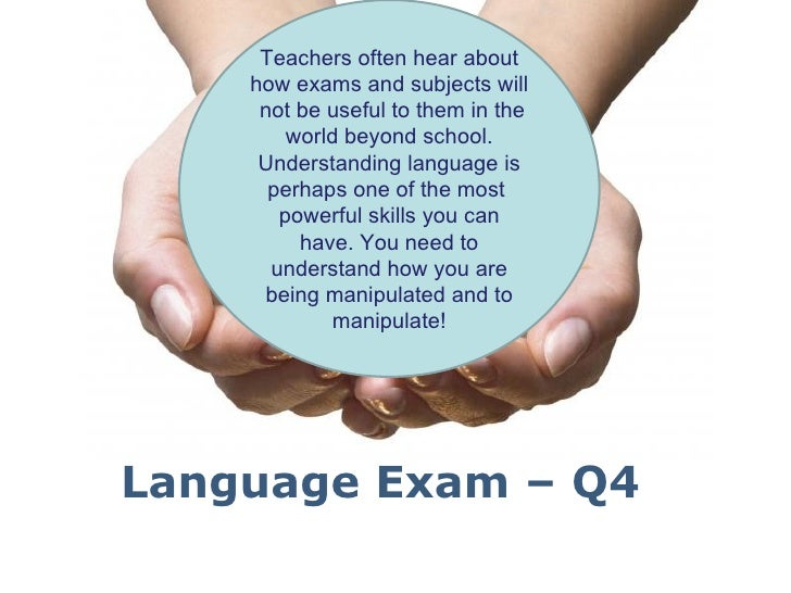 Teachers often hear about    how exams and subjects will     not be useful to them in the        world beyond school.     ...