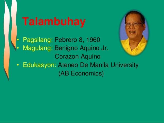 Programa ni dating pangulong Corazon Aquino