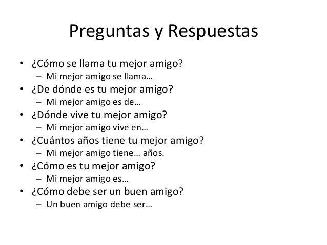 Q4 W1 Mis Amigos